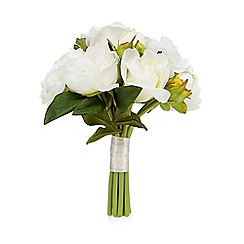 Floozie by Frost French - Ivory bouquet of artificial roses
