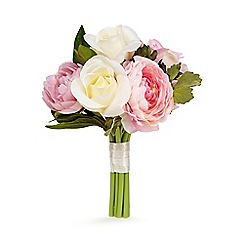 Floozie by Frost French - Pink bouquet of artificial roses