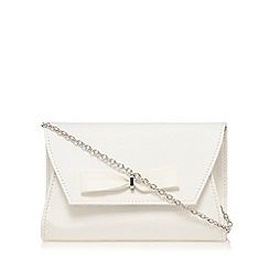 Floozie by Frost French - Ivory bow cross body bag