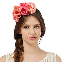 Floozie by Frost French - Black flower band headband