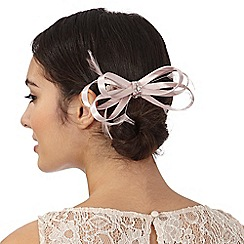 Debut - Pink loop bow hair clip