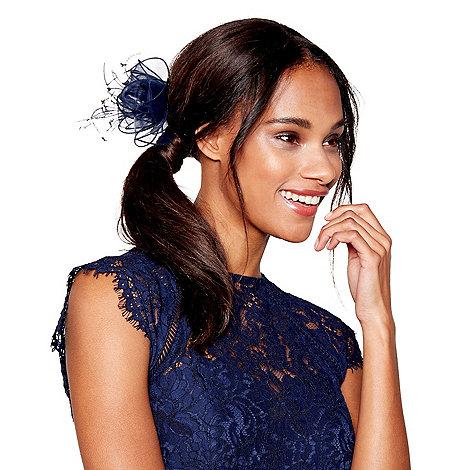 Debut - Navy organza hair clip