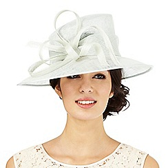 Hatbox - Aqua abstract curl hat