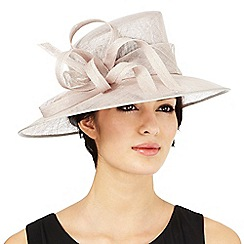 Hatbox - Grey abstract curl hat