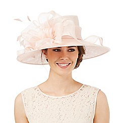 Hatbox - Light pink ruffle bow hat