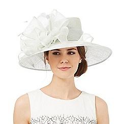 Hatbox - Aqua ruffle bow hat
