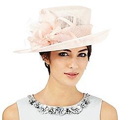 Hatbox - Light pink feather burst hat