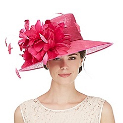 Hatbox - Bright pink flower trumpet hat