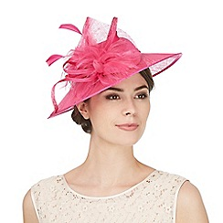 Hatbox - Pink oversized saucer hair band