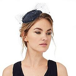 No. 1 Jenny Packham - Navy jewel trim veil headband