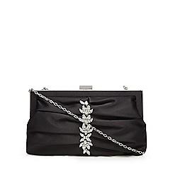 No. 1 Jenny Packham - Black jewel embellished clutch bug