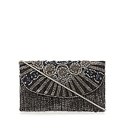 No. 1 Jenny Packham - Black beaded clutch bag