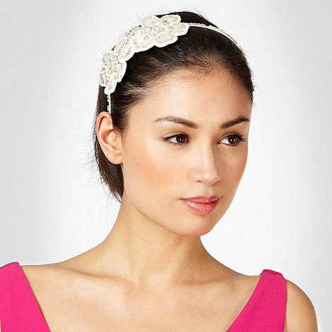 No. 1 Jenny Packham - Silver diamante bow headband