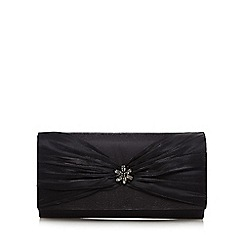 Debut - Black 'Organza' clutch purse