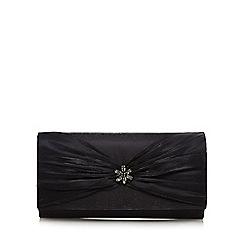 Debut - Black 'Organza' clutch purse