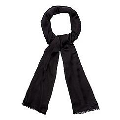 Debut - Black reversible pashmina scarf