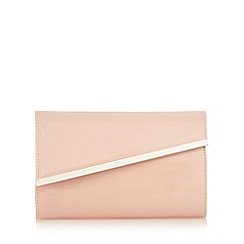 Debut - Light pink asymmetric clutch bag
