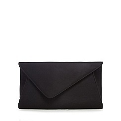 Debut - Black oversized clutch bag