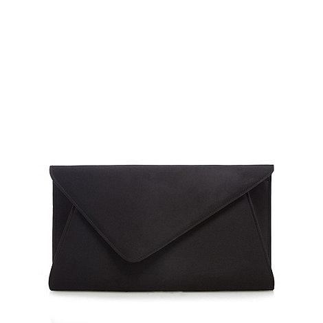 Debut - Black oversized clutch bag