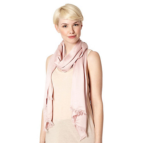 Debut - Light pink reversible pashminetta