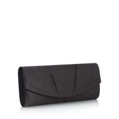 Debut Black curved clutch bag - . -