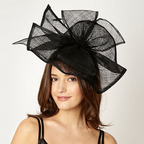 J by Jasper Conran - Designer black split bow headband