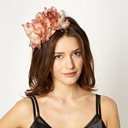 Designer Dark Pink Rose Trio Headband