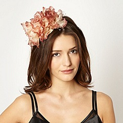 Star by Julien Macdonald - Designer dark pink rose trio headband