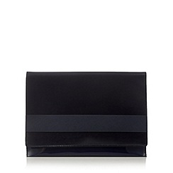 Principles by Ben de Lisi - Navy band detail clutch bag