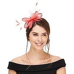 Principles by Ben de Lisi - Pink feather fascinator