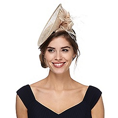 Principles by Ben de Lisi - Brown feather fascinator