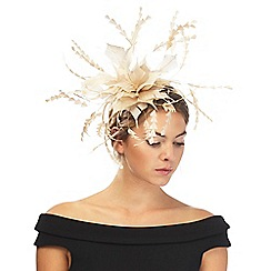 Principles by Ben de Lisi - Natural feather fascinator