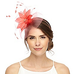 Principles by Ben de Lisi - Pink feather flower fascinator