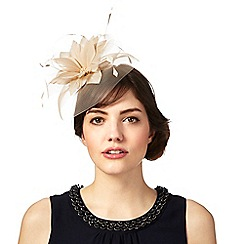 Principles by Ben de Lisi - Natural feather flower fascinator
