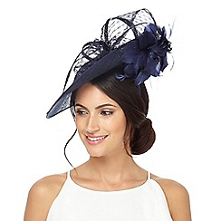 Principles by Ben de Lisi - Navy bow fascinator