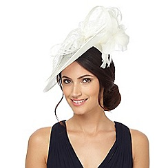 Principles by Ben de Lisi - Ivory bow fascinator