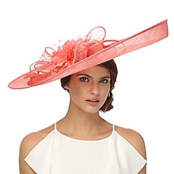 Principles by Ben de Lisi - Pink large flower fascinator