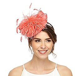Principles by Ben de Lisi - Pink feather bow headband fascinator
