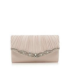 No. 1 Jenny Packham - Pink stone embellished clutch bag