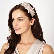 Light Pink Floral Lace Hairband