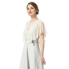 No. 1 Jenny Packham - Ivory sequined leaf shrug