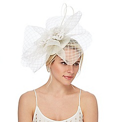 No. 1 Jenny Packham - Grey floral fascinator