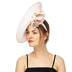 No. 1 Jenny Packham - Nude lurex underbrim hat