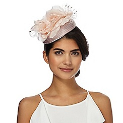 No. 1 Jenny Packham - Pink flower pillbox fascinator