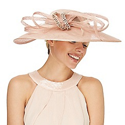 No. 1 Jenny Packham - Pink stone embellished fascinator