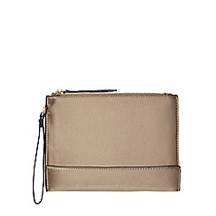Star by Julien Macdonald - Gold wrist strap clutch bag