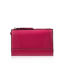 Star by Julien Macdonald - Bright pink wrist strap clutch