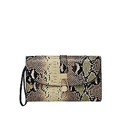 Star by Julien Macdonald - Multi-coloured faux-python clutch