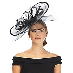 Star by Julien Macdonald - Black wave fascinator
