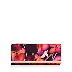 Star by Julien Macdonald - Multi-coloured floral print clutch bag